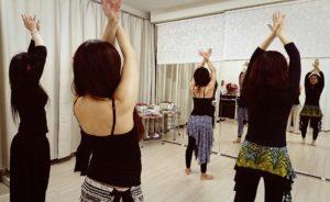 ベリーダンス中級fusion